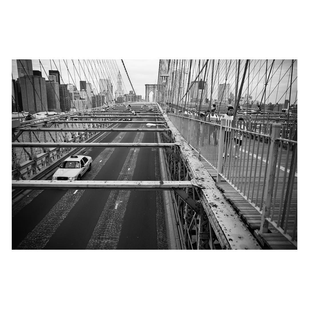 Brooklyn bridge, New York 2008.