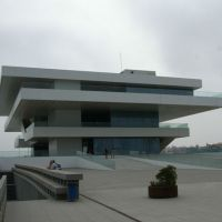 America's Cup Building, Valencia, Spain