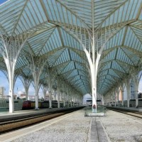 Gare do Oriente, Lisbon, Portugal