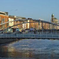 James Joyce Bridge, Dublin, Ireland