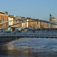 James Joyce Bridge, Dublin, Ireland