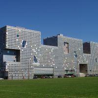 Simmons Hall, MIT, Cambridge, Massachusetts