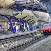 Zürich Stadelhofen railway station, Switzerland