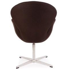 Arne Jacobsen Swan Chair Cover Hire Melton Mowbray - Brown