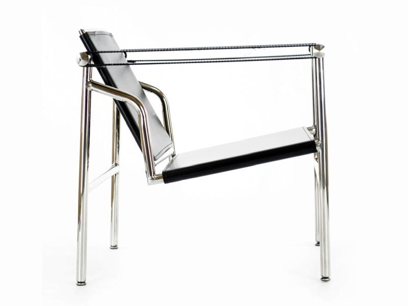 Sedia LC1 Le Corbusier  Nero