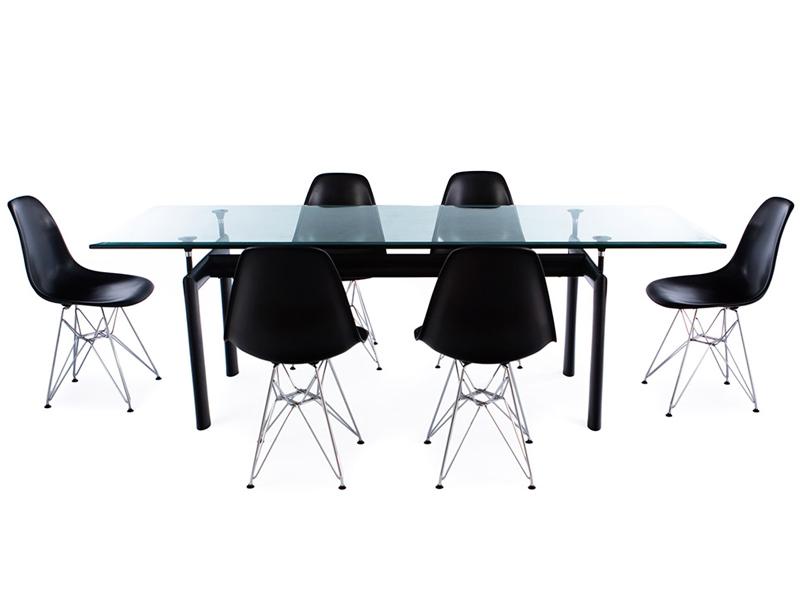 Tavolo LC6 Le Corbusier e 6 sedie