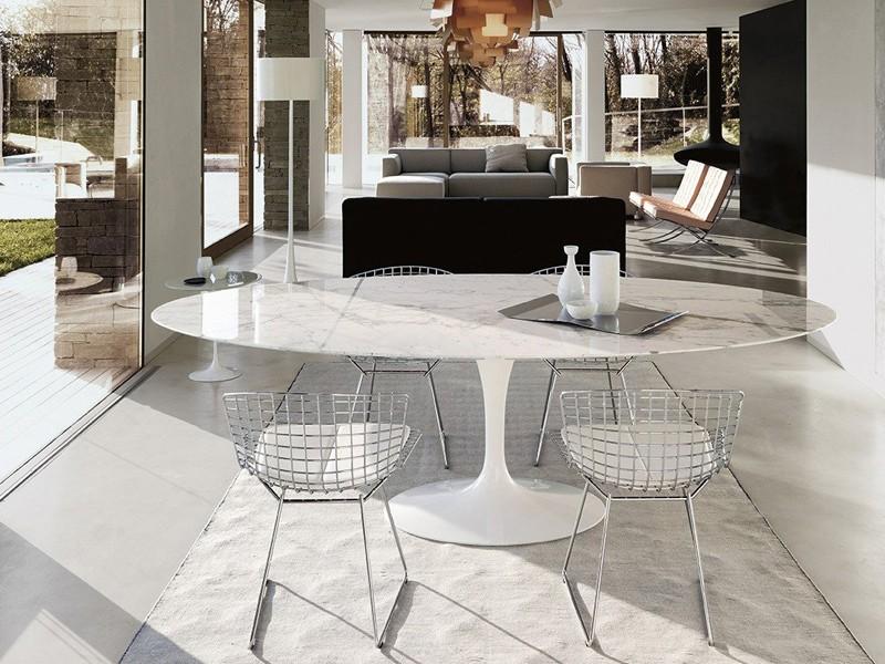 Tavolo ovale Tulip Saarinen