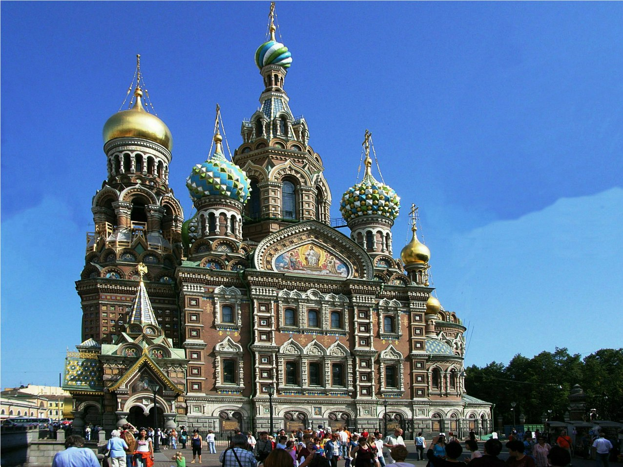Famous Old Buildings in St. Petersburg Russia