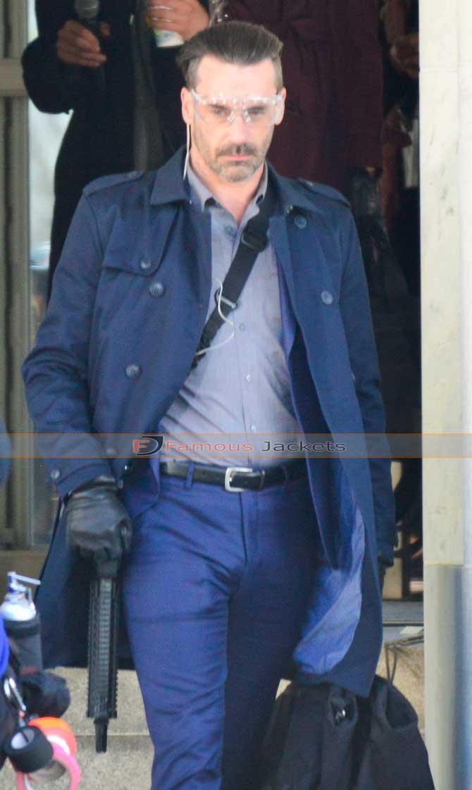 Buddy Baby Driver Jon Hamm Trench Coat 116 Add To Cart