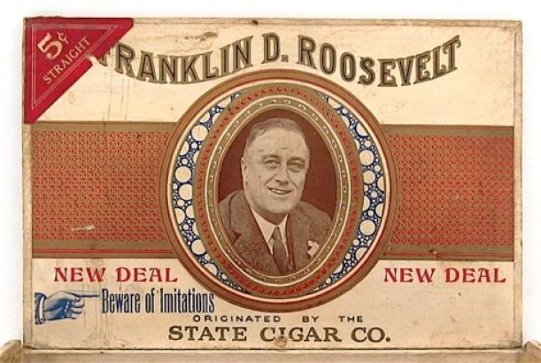presidents who smoked cigars FDR