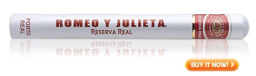 buy classic cigar brands Romeo y Julieta Reserva Real Porta Real cigars