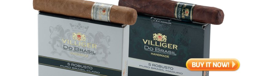 top new cigars May 11 2020 Villiger do Brasil cigars at Famous Smoke Shop