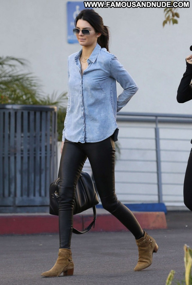 Kendall Jenner West Hollywood Beautiful Posing Hot West Hollywood