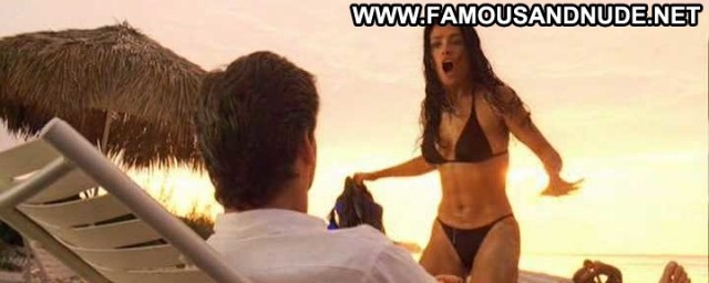 Salma Hayek Nude Sexy Scene After The Sunset Boat Mexican