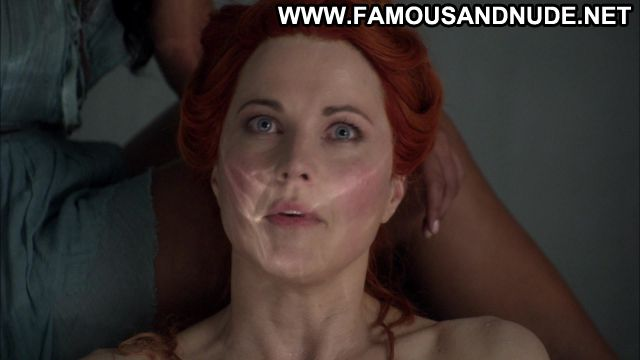 Lucy Lawless Spartacus Redhead Big Tits Posing Hot Famous