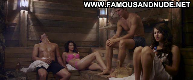 Christina Ulloa 247 Degrees Fahrenheit Sauna Panties Bra Hot