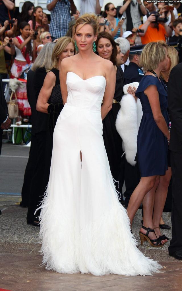 Uma Thurman Midnight In Paris Posing Hot Babe Celebrity Beautiful