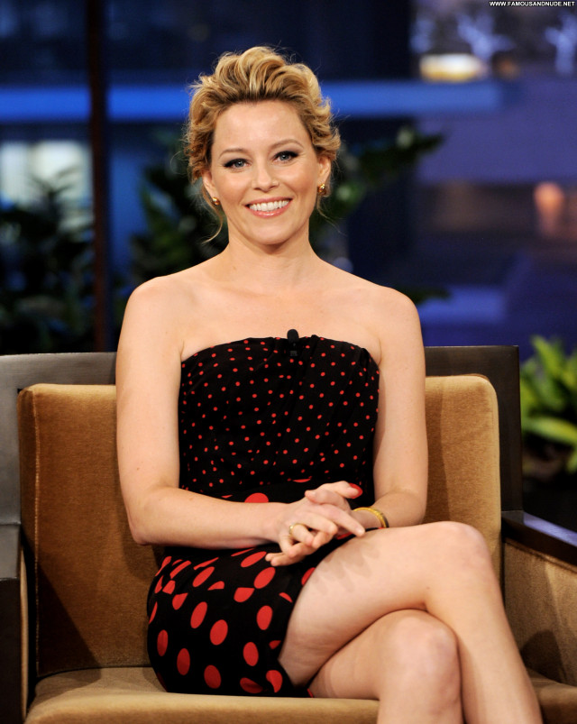 Elizabeth Banks The Tonight Show With Jay Leno High Resolution Babe