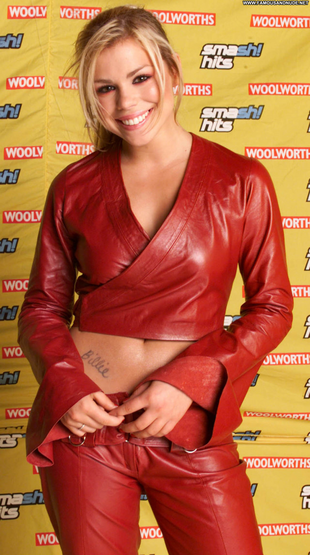 Billie Piper Instagram Beautiful British Babe Leather Posing Hot