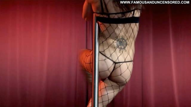 Unknown Stripped Naked Lap Dance Panties Thong Fishnet Bra Gorgeous