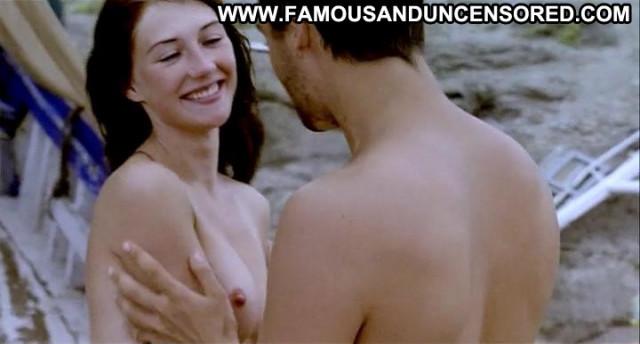 Carice Van Houten Zwarte Zwanen Beach Celebrity Breasts Tattoo