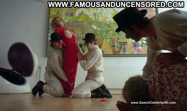 Adrienne Corri A Clockwork Orange Tied Up Redhead Nude Scene