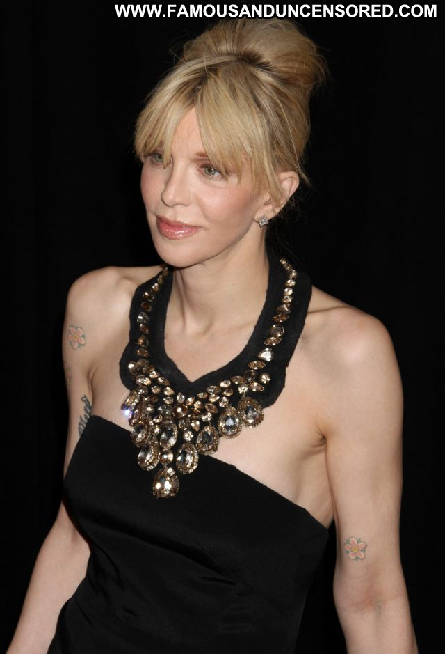 Courtney Love Singer Sexy Dress Blonde Showing Tits Actress
