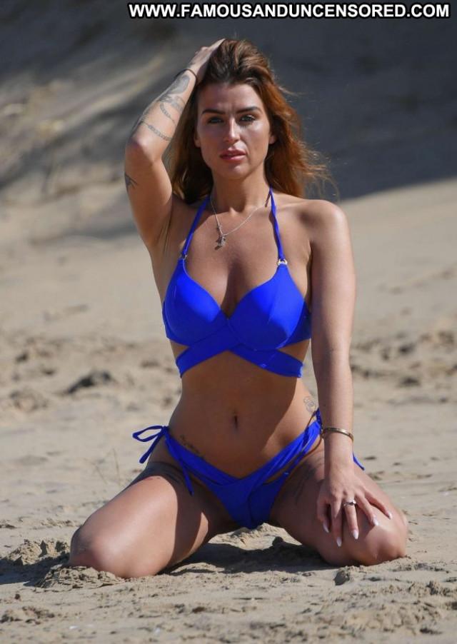Jenny Thompson The Beach Beautiful Posing Hot Paparazzi Celebrity