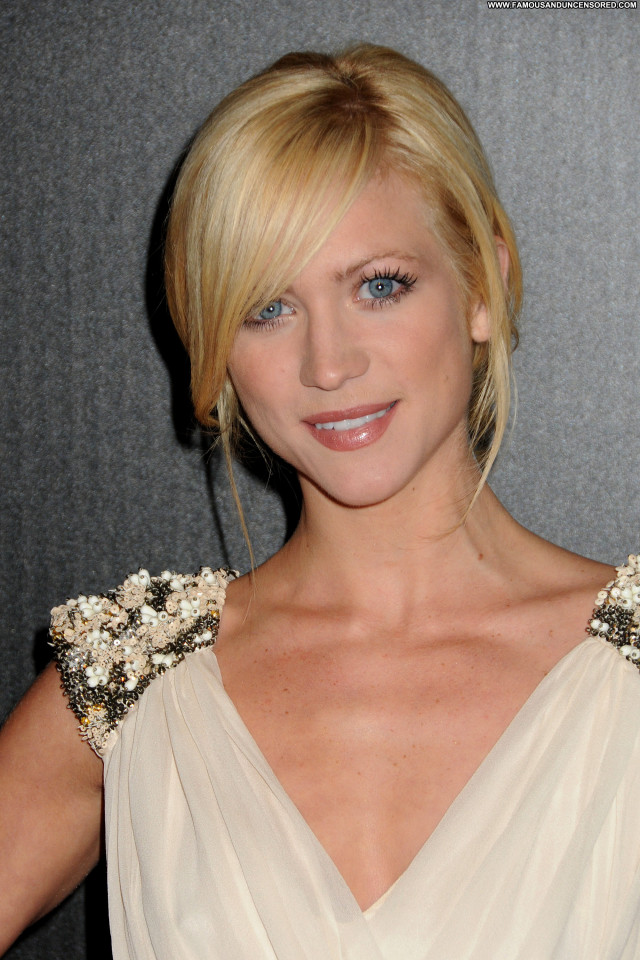 Brittany Snow Golden Globe Awards Celebrity Beautiful Posing Hot