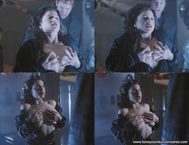Zoe Trilling Night Of The Demons Nude Scene Celebrity Beautiful Sexy