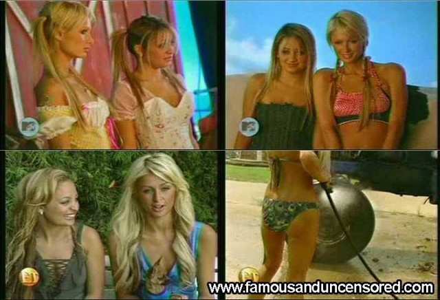 Paris Hilton Entertainment Tonight Sexy Celebrity Nude Scene