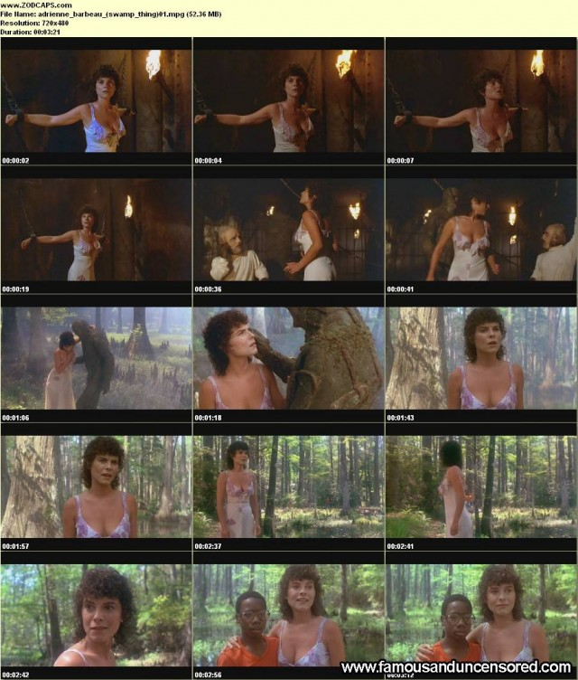 Adrienne Barbeau Swamp Thing Nude Scene Beautiful Sexy