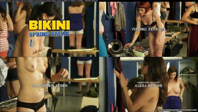 Erin Obrien Bikini Spring Break Beautiful Nude Scene Sexy Celebrity