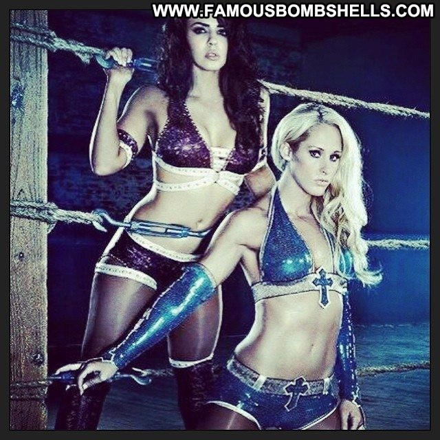 Michelle Mccool Miscellaneous Athletic Celebrity Sultry Medium Tits