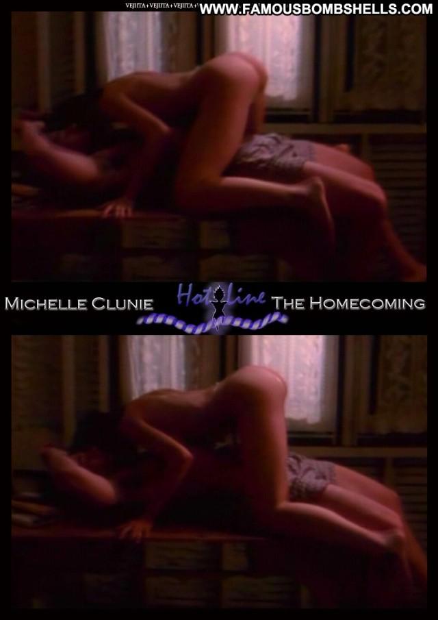 Michelle Clunie Hot Line Medium Tits Sultry Celebrity Brunette