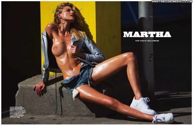 Martha Hunt Miscellaneous Blonde Small Tits Celebrity Doll Nice Cute