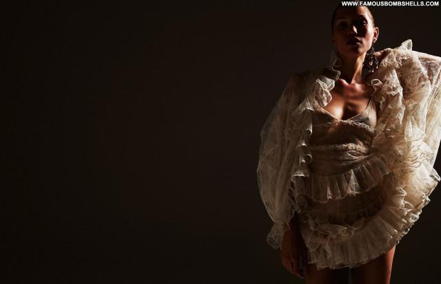 Hana Jirickova Zoo Magazine Posing Hot Magazine Topless Model