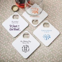 Design Your Own Coaster / Bottle Opener Favors