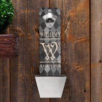Personalized Argyle Family Pub Wall Mounted Bottle Opener ...