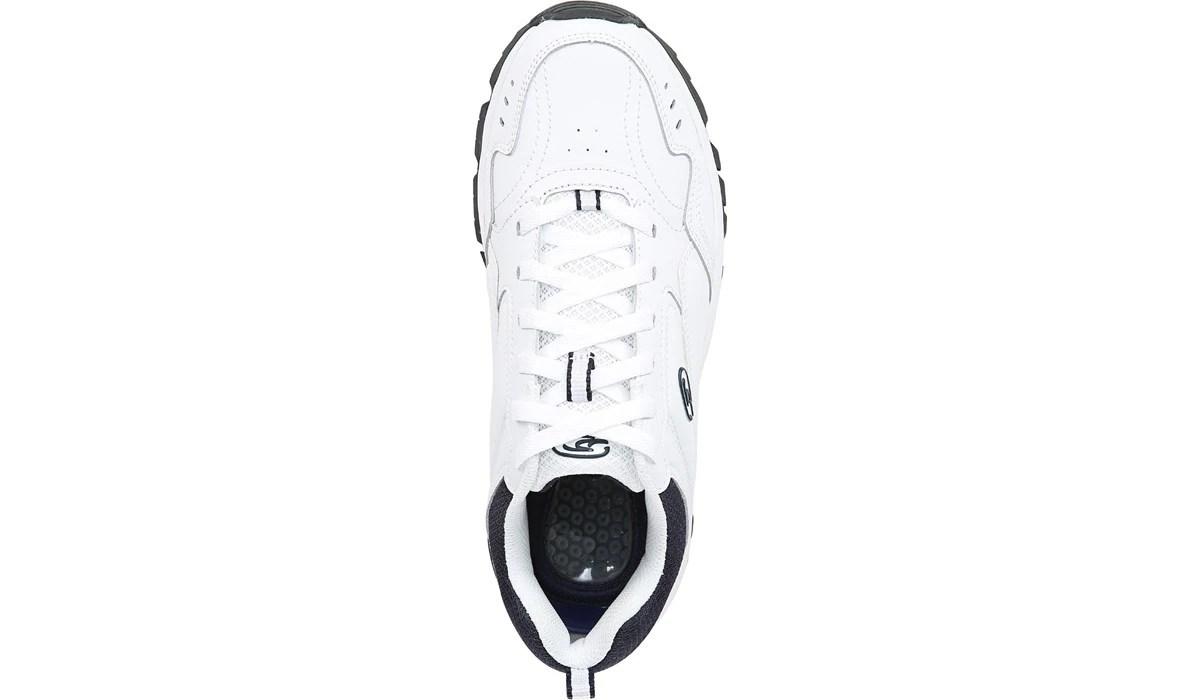 Dr. Scholl's Men's Sebastian Wide Walking Shoe White