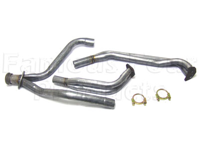 Downpipes and Y-Piece Assembly (FF004611) for Range Rover