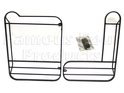 Rear Hinged Type Light Guards (FF006071) for Land Rover 90