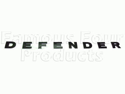 DEFENDER Bonnet Decal (FF008605) for Land Rover 90/110 and