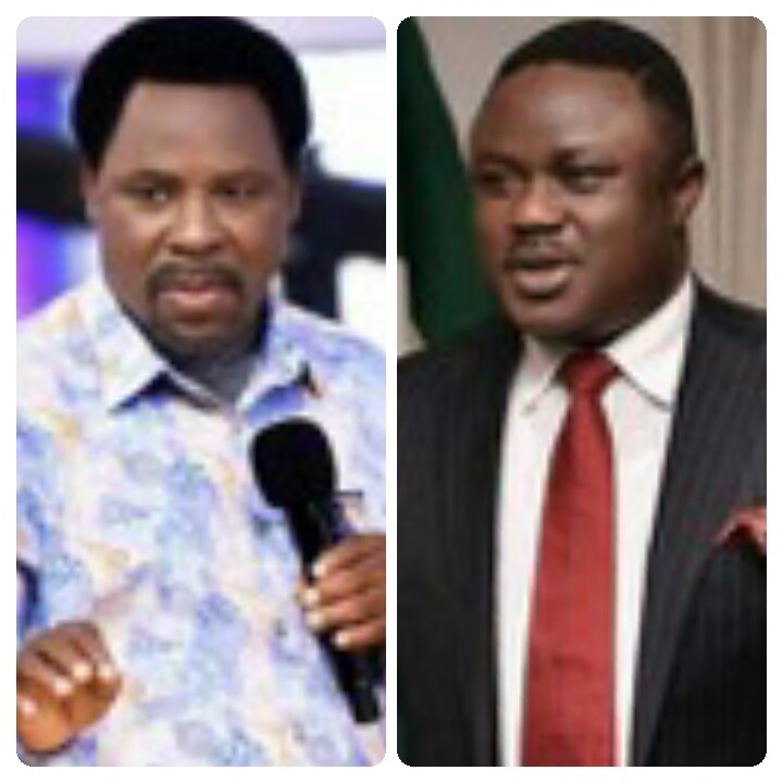 How Governors Udom Emmanuel, Ben Ayade Acted On T.B Joshua's Advise On Youth Revolution