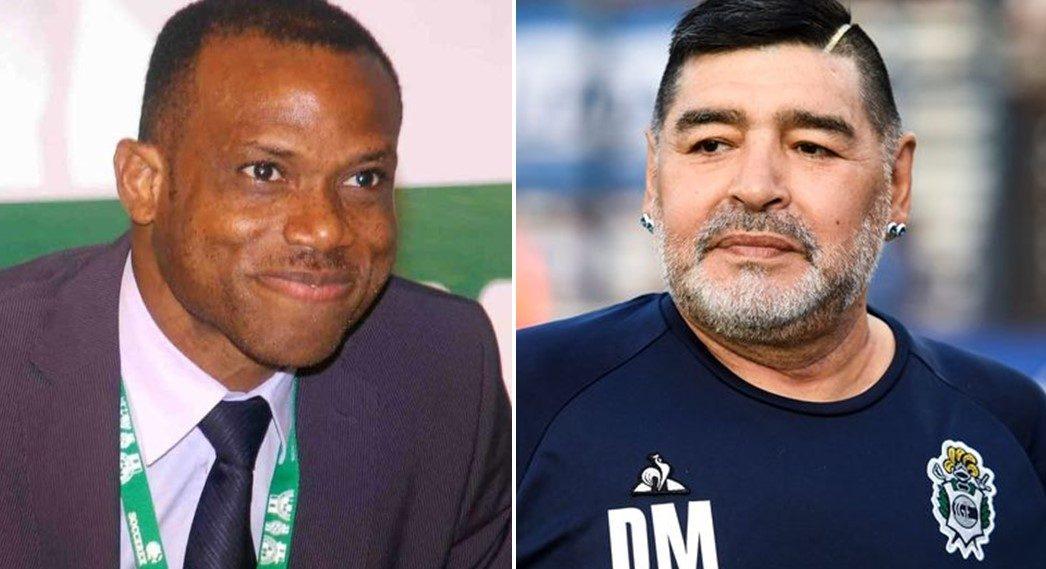 Sunday Oliseh Opens Up On Football Great, Diego Maradona
