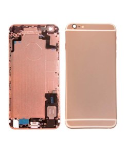 replacement back housing rose gold for 6s plus