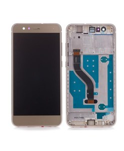 lcd with frame for p10 lite gold