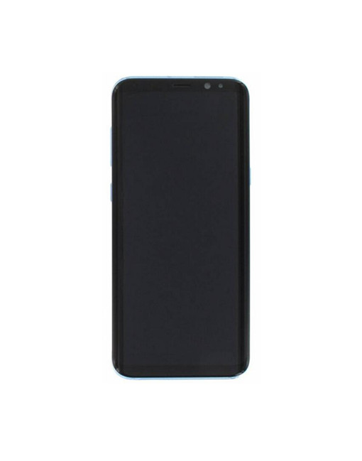 S8 Plus Screen Blue