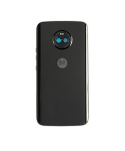 For Moto X4 Rear Housing Replacement - Black