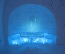 Quebec Ice Hotel Rooms